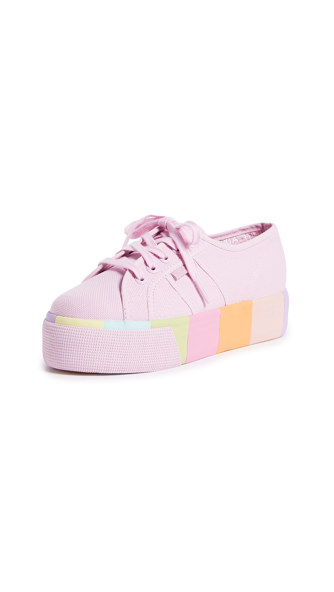 Superga 2790 Multi Platform Sneakers - Pink/Lavender