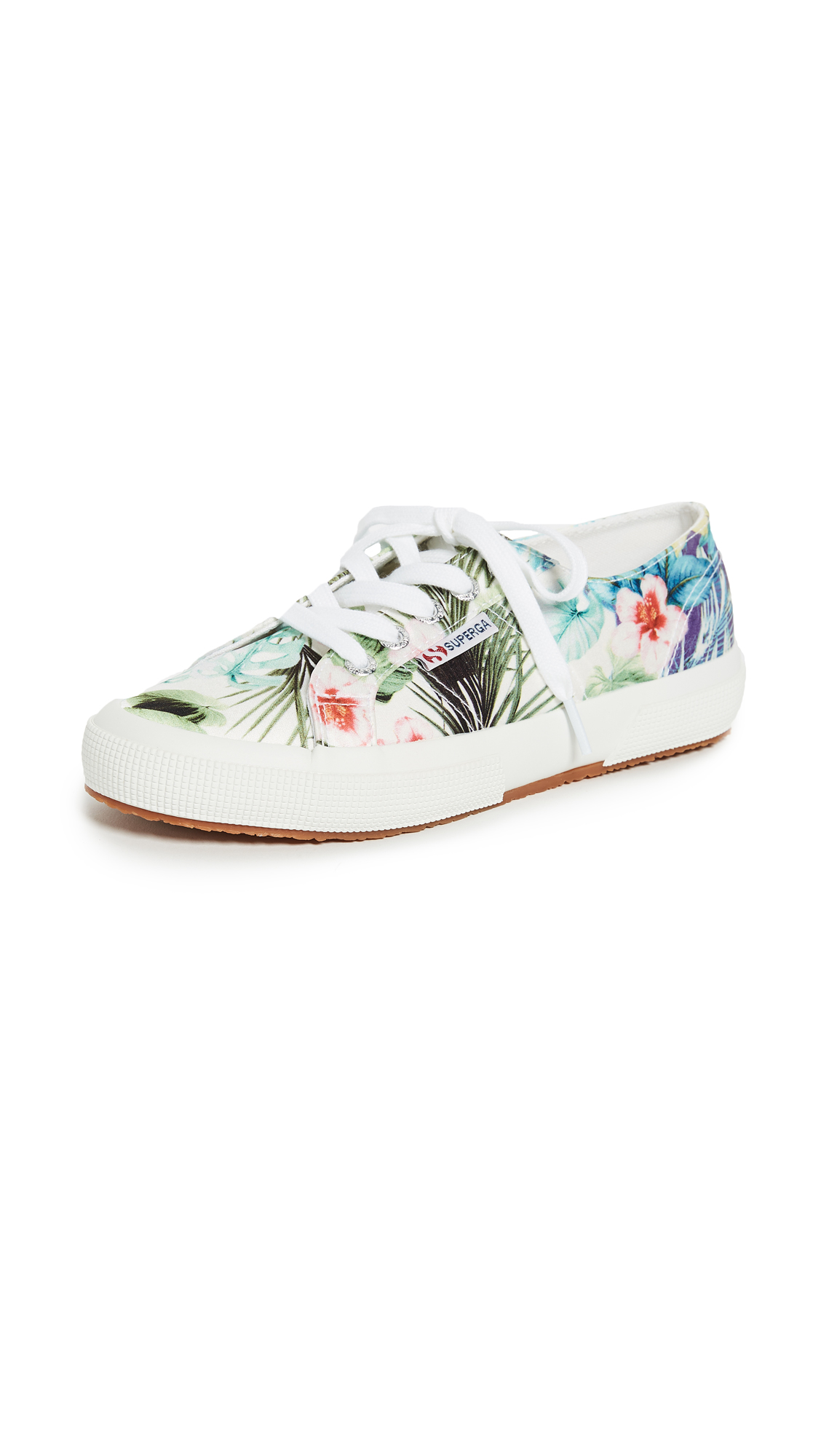 Photo of Superga 2750 Hawaiian Floral Sneakers - buy Superga shoes