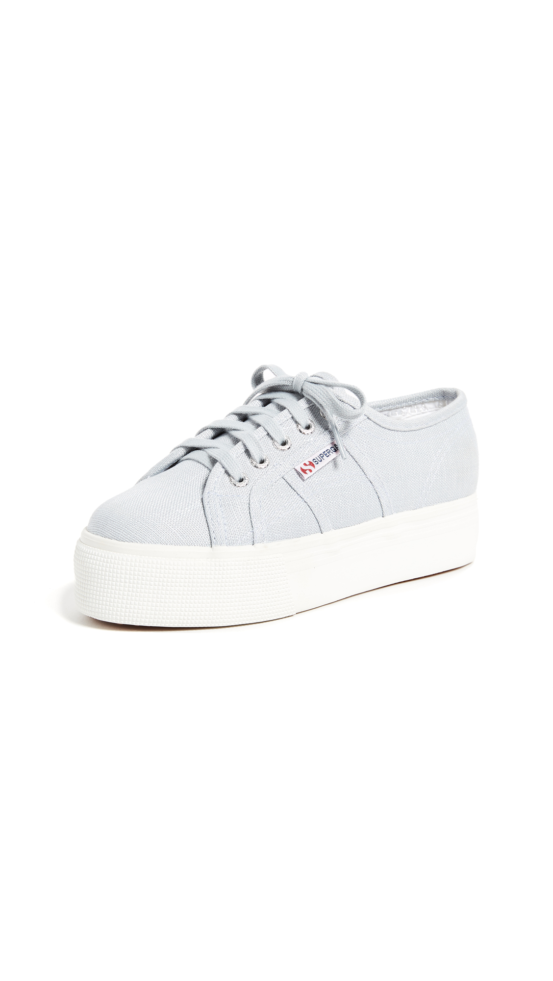 Superga 2790 Linen Platform Sneakers - Chambray