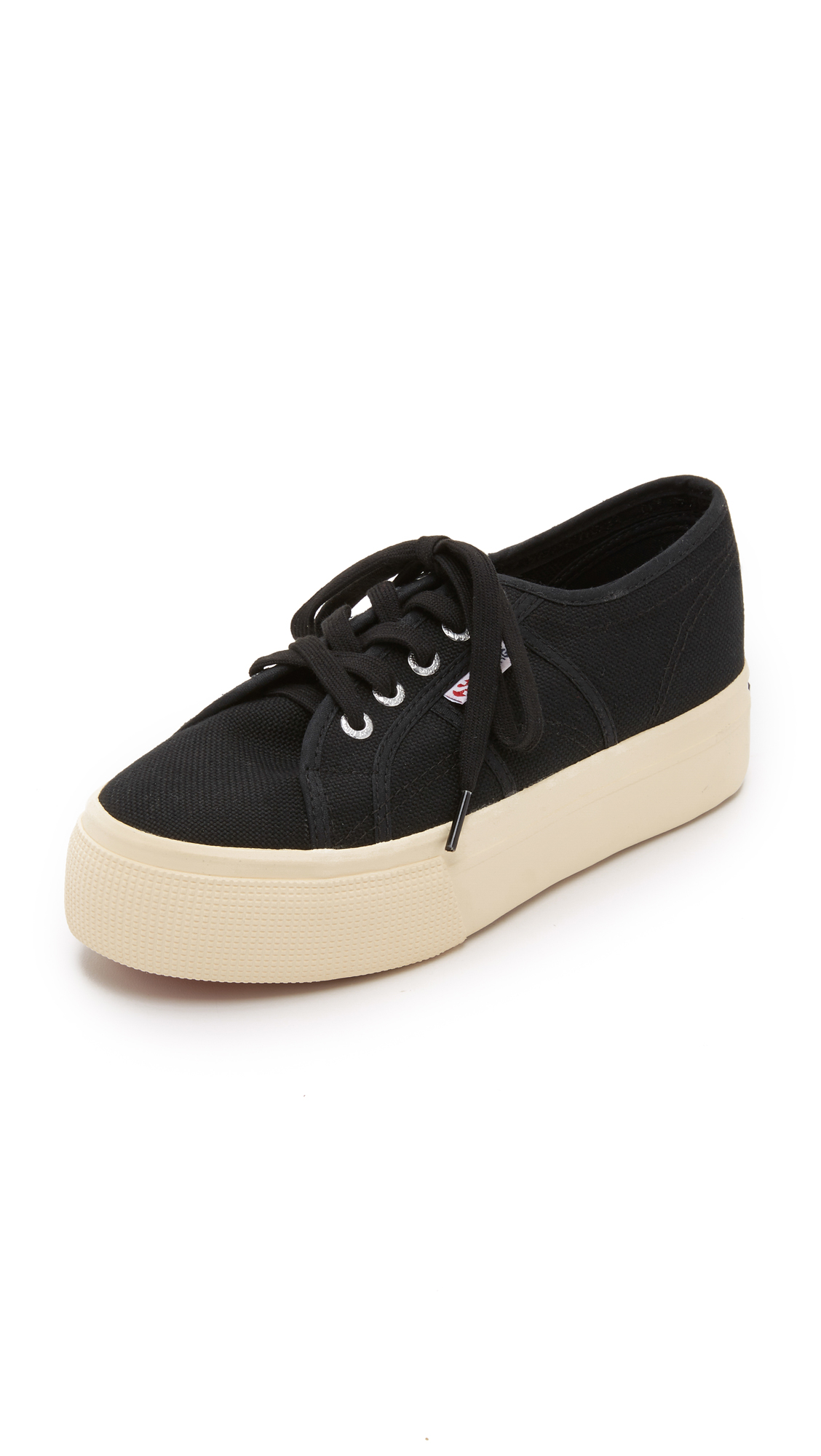 Superga 2790 ACOTW Platform Sneakers - Black