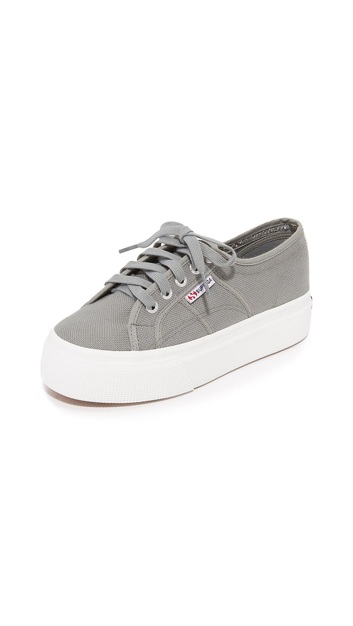 Superga 2790 ACOTW Platform Sneakers - Grey Sage