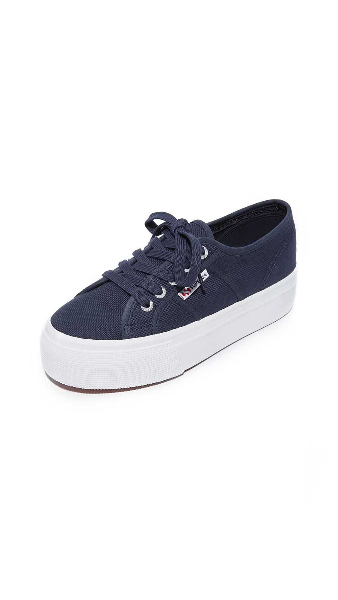 Superga 2790 ACOTW Platform Sneakers - Navy