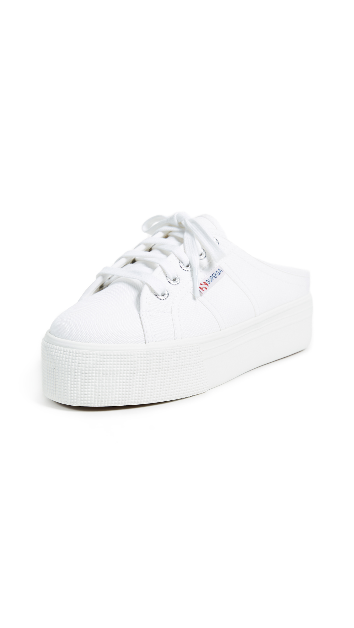 Superga 2284 C0TW Platform Sneakers - White