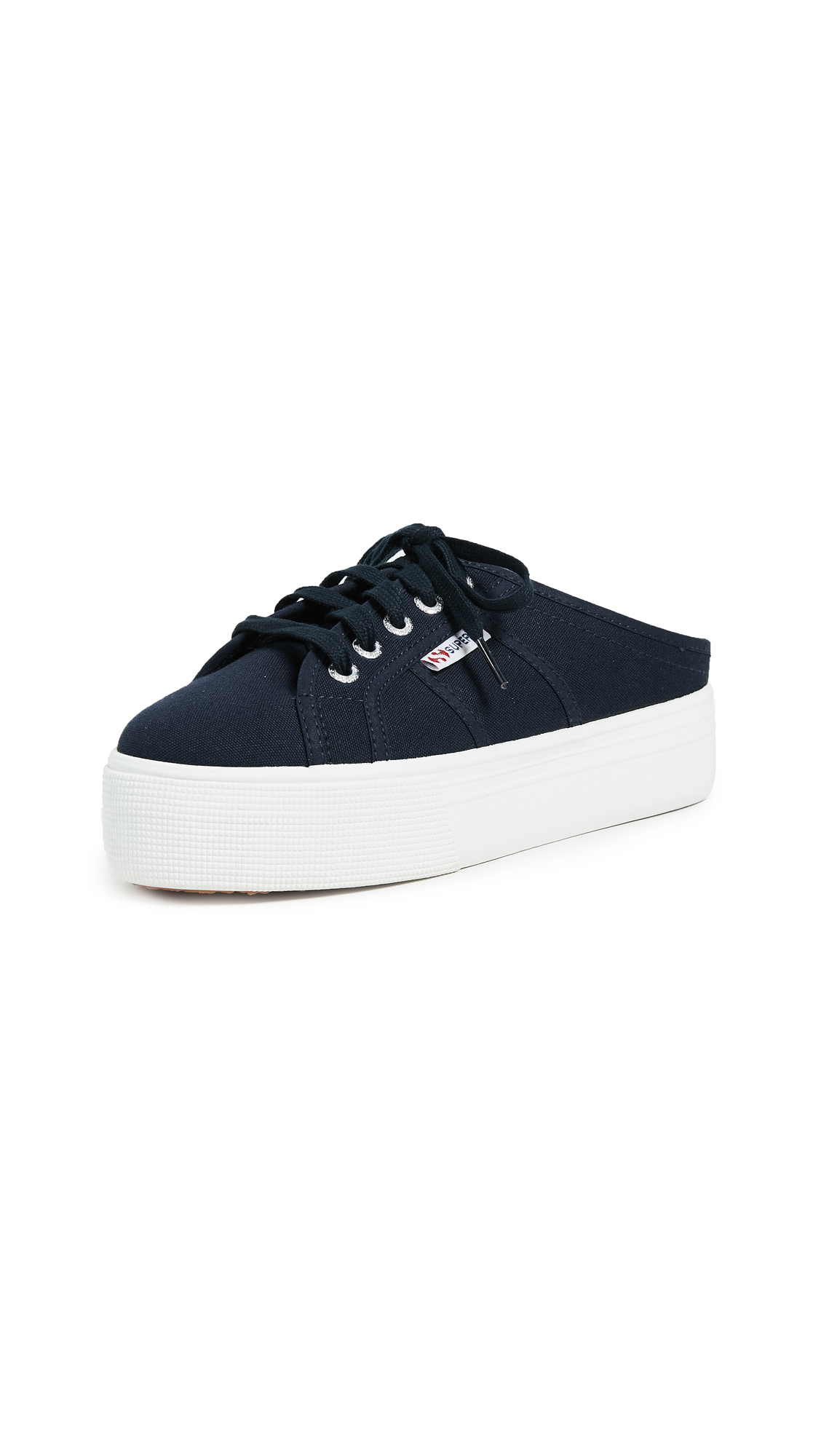 Superga 2284 C0TW Platform Sneakers - Navy