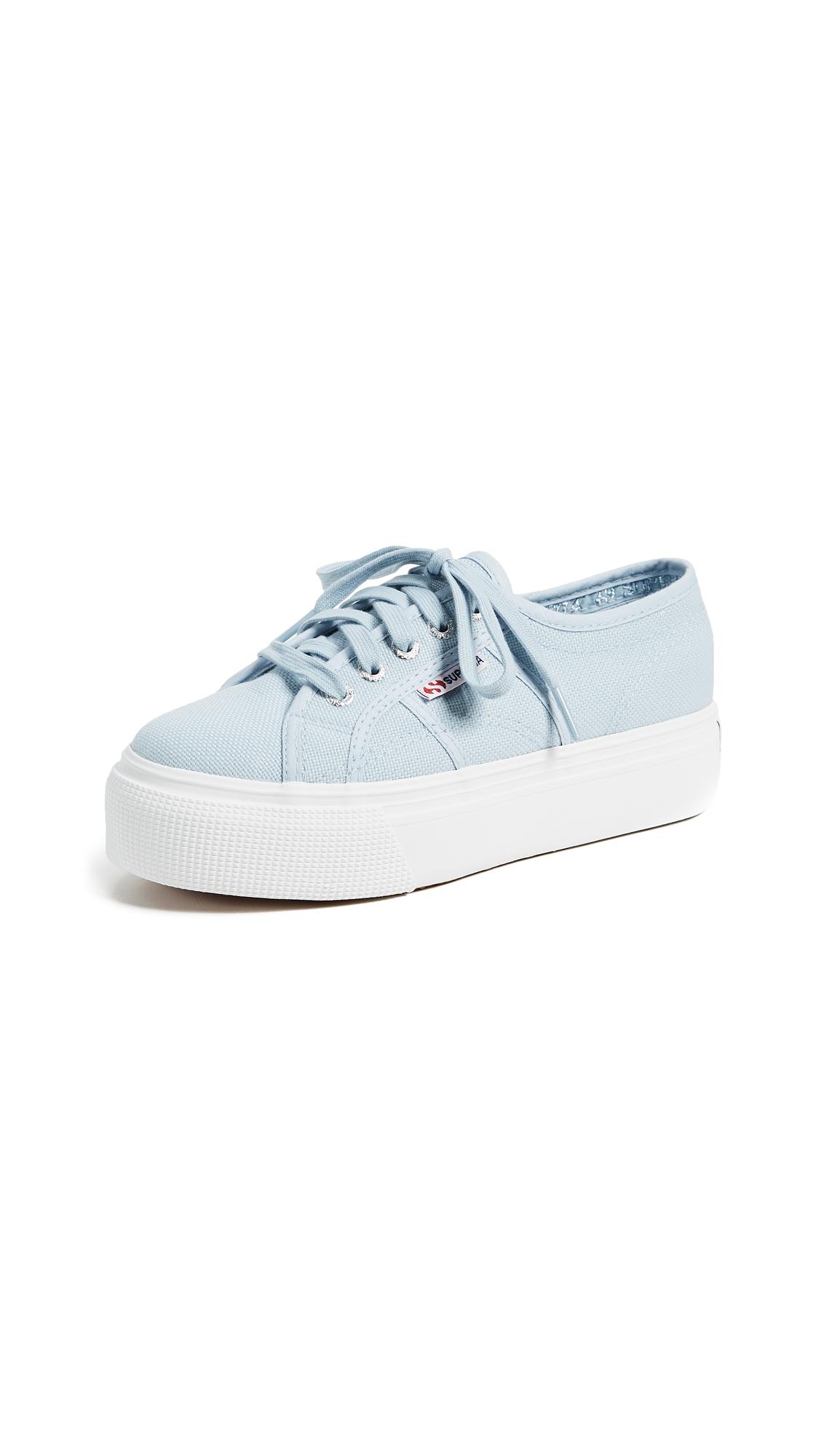 Superga 2790 Platform Sneakers - Dusty Blue