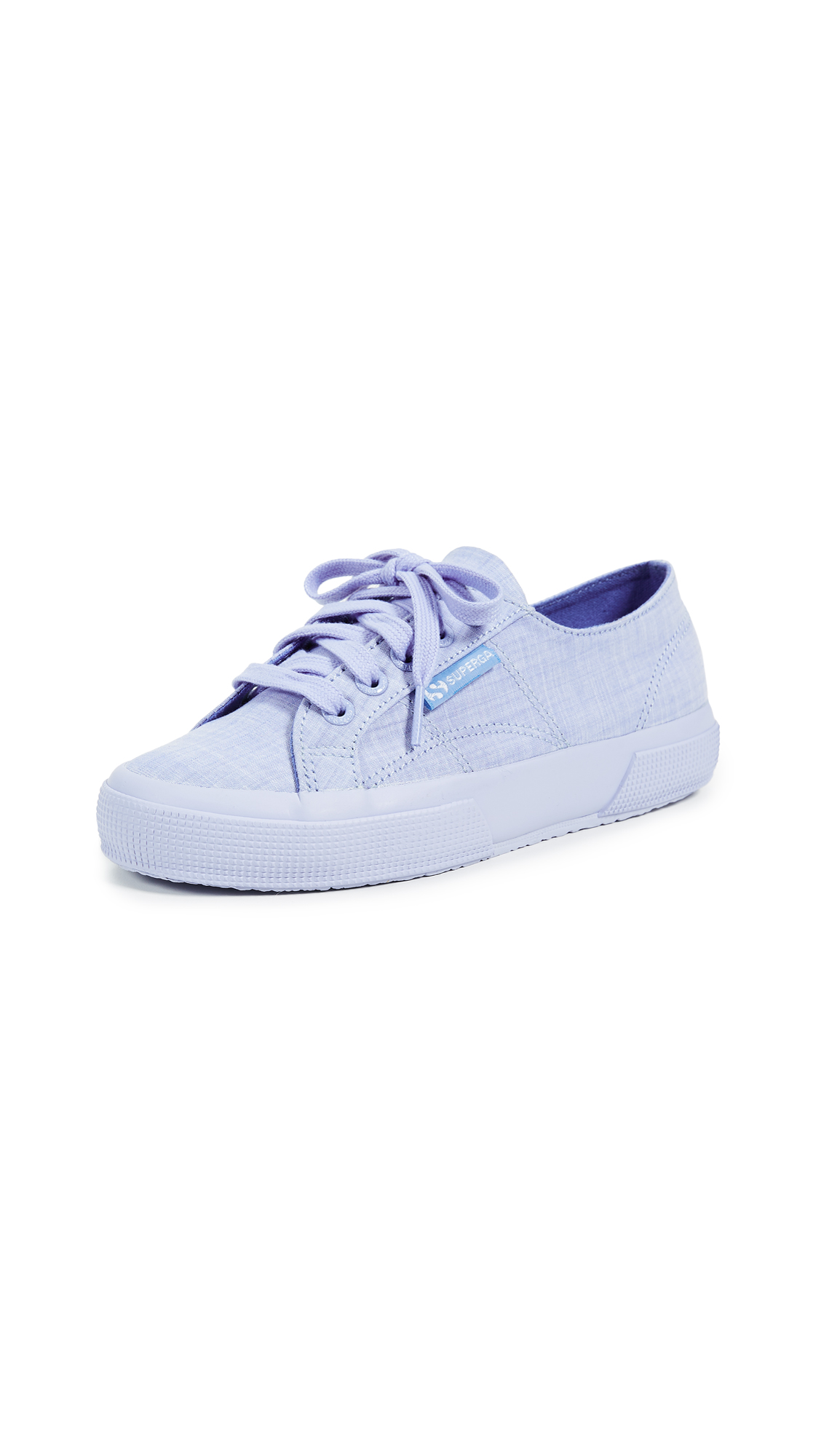 Superga 2750 Cotton Melangu Sneakers In Blue