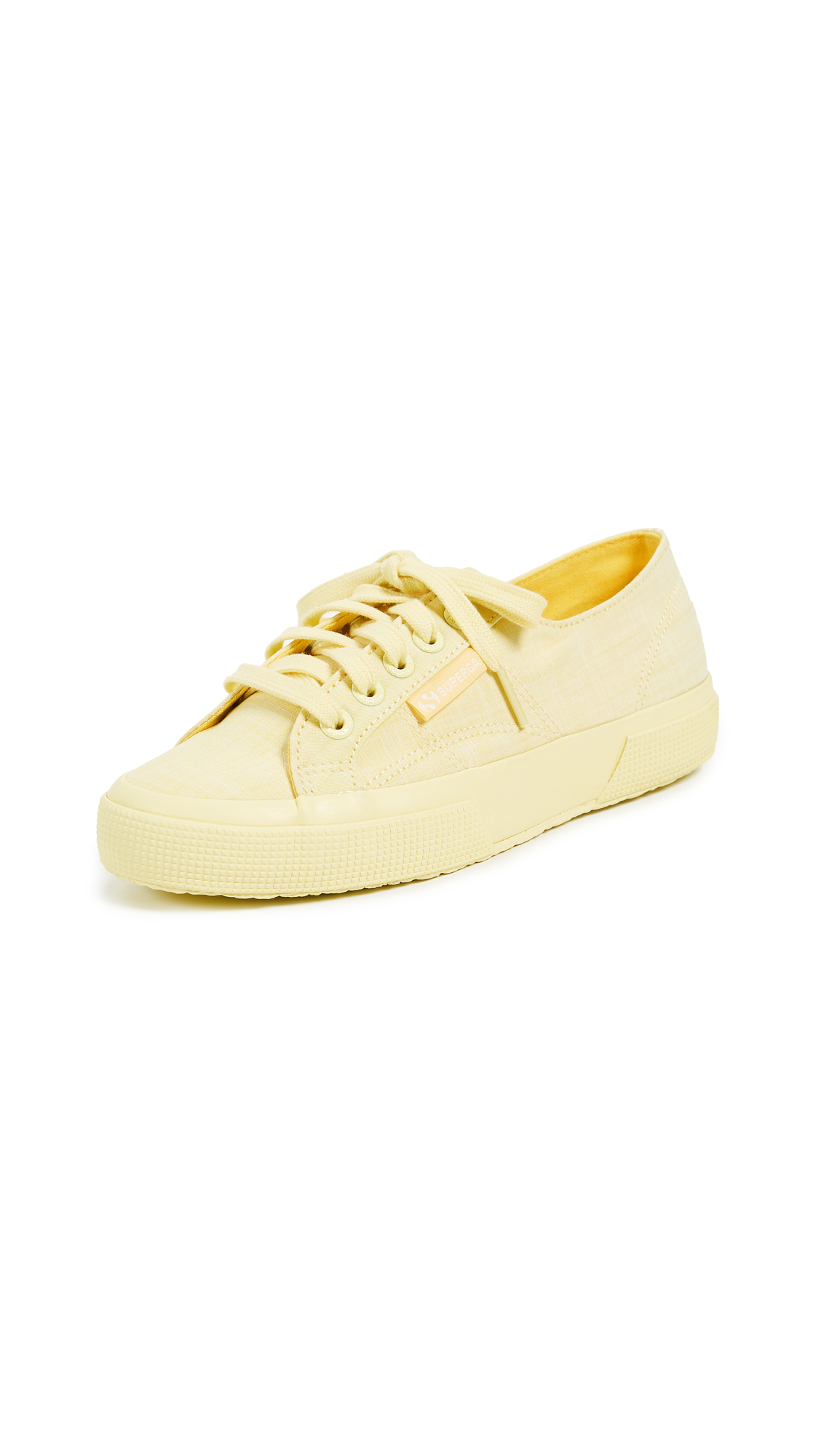 Superga 2750 Cotton Melangu Sneakers - Yellow