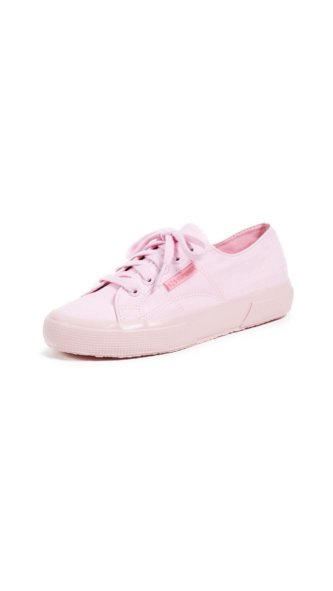 Superga 2750 Cotton Melangu Sneakers In Pink