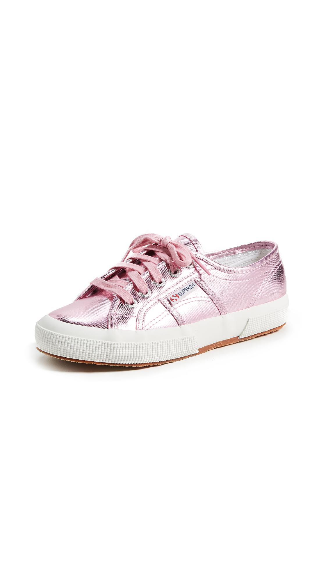 Superga 2750 COTU Metallic Sneakers - Pink