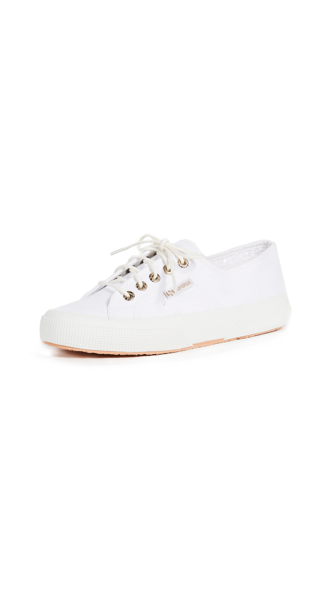 Superga 2750 Sant Ambroeus Laceup Sneakers - White