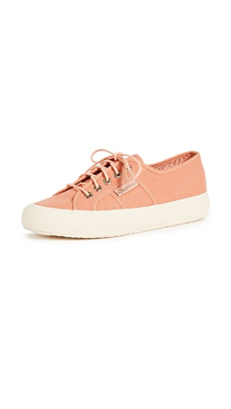 2750 Sant Ambroeus Laceup Sneakers in Peach
