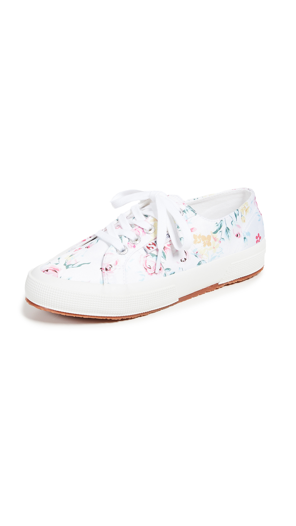 Photo of Superga 2750 Floral Print Sneakers - buy Superga shoes