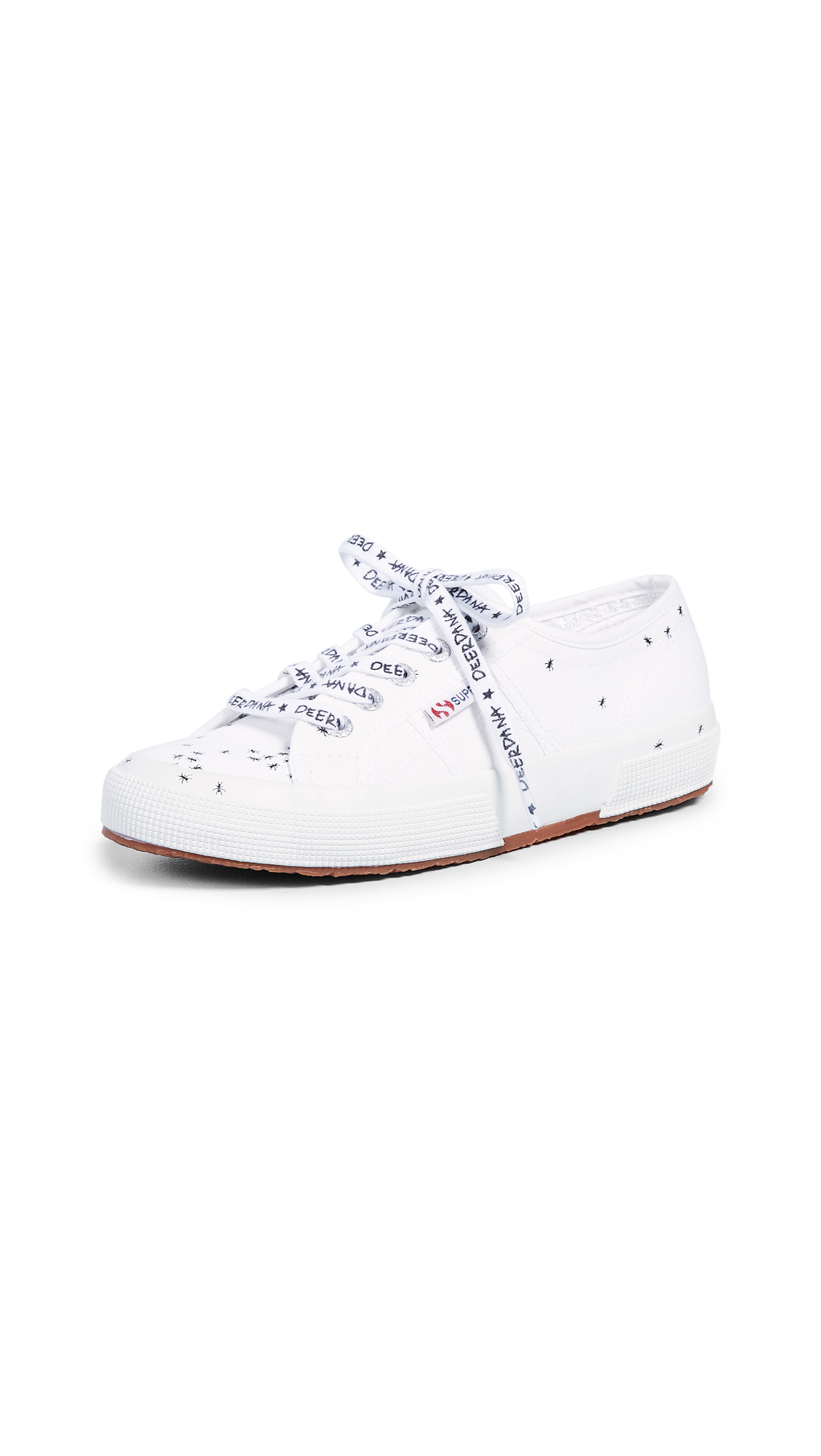 Superga 2750 Deer Dana Ant Sneakers - White
