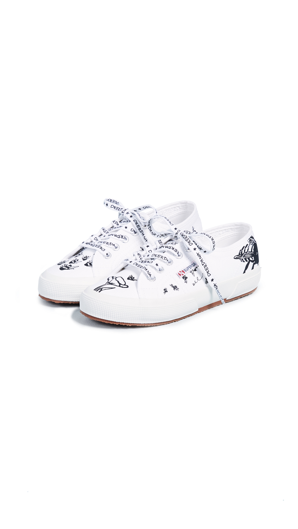 Superga 2750 Deer Dana Bees Sneakers - White