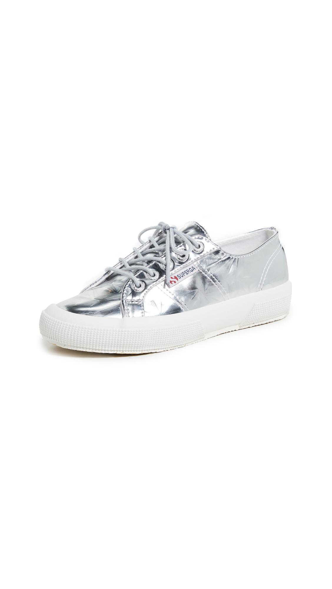 Superga 2750 Metallic Sneakers - Silver