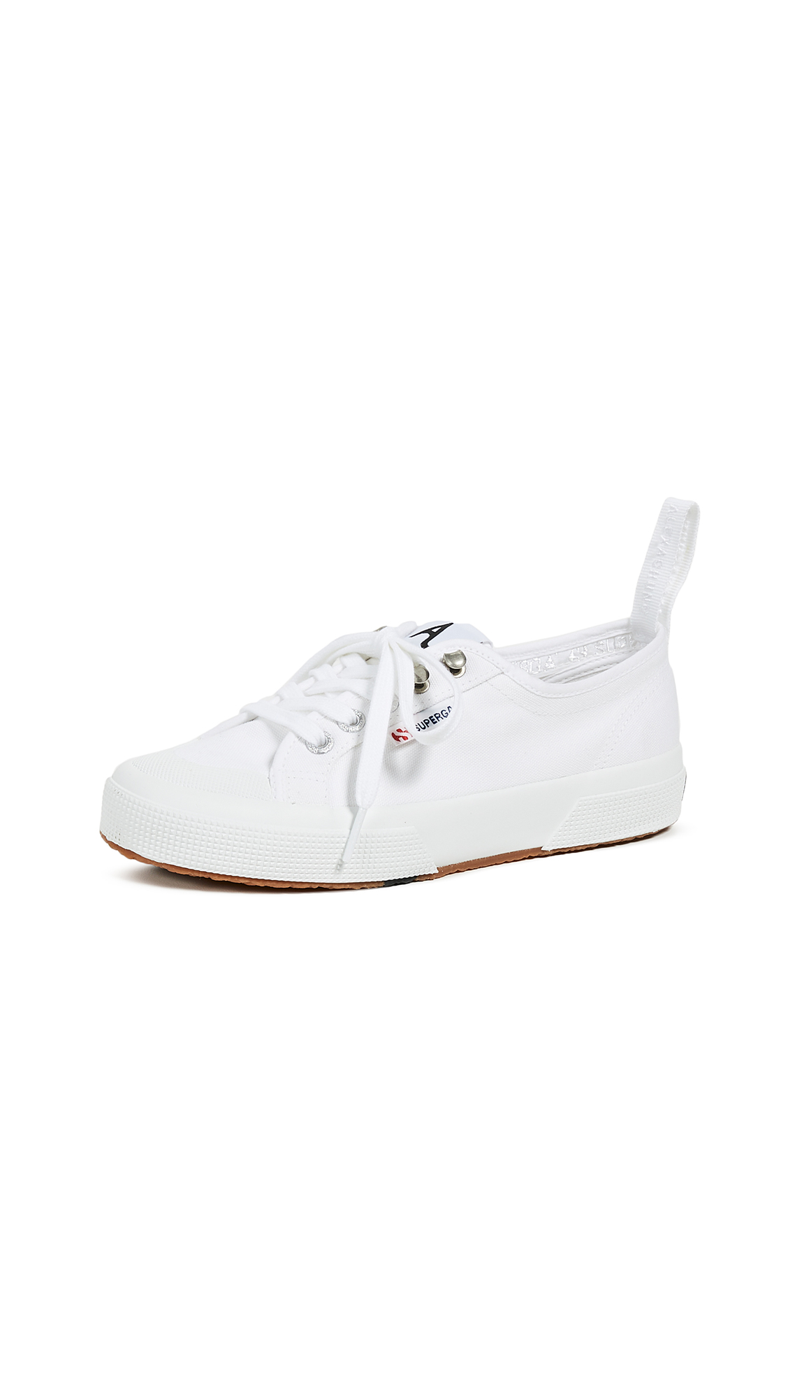 Superga x Alexa Chung 2294 Cothook Lace Up Sneakers - White