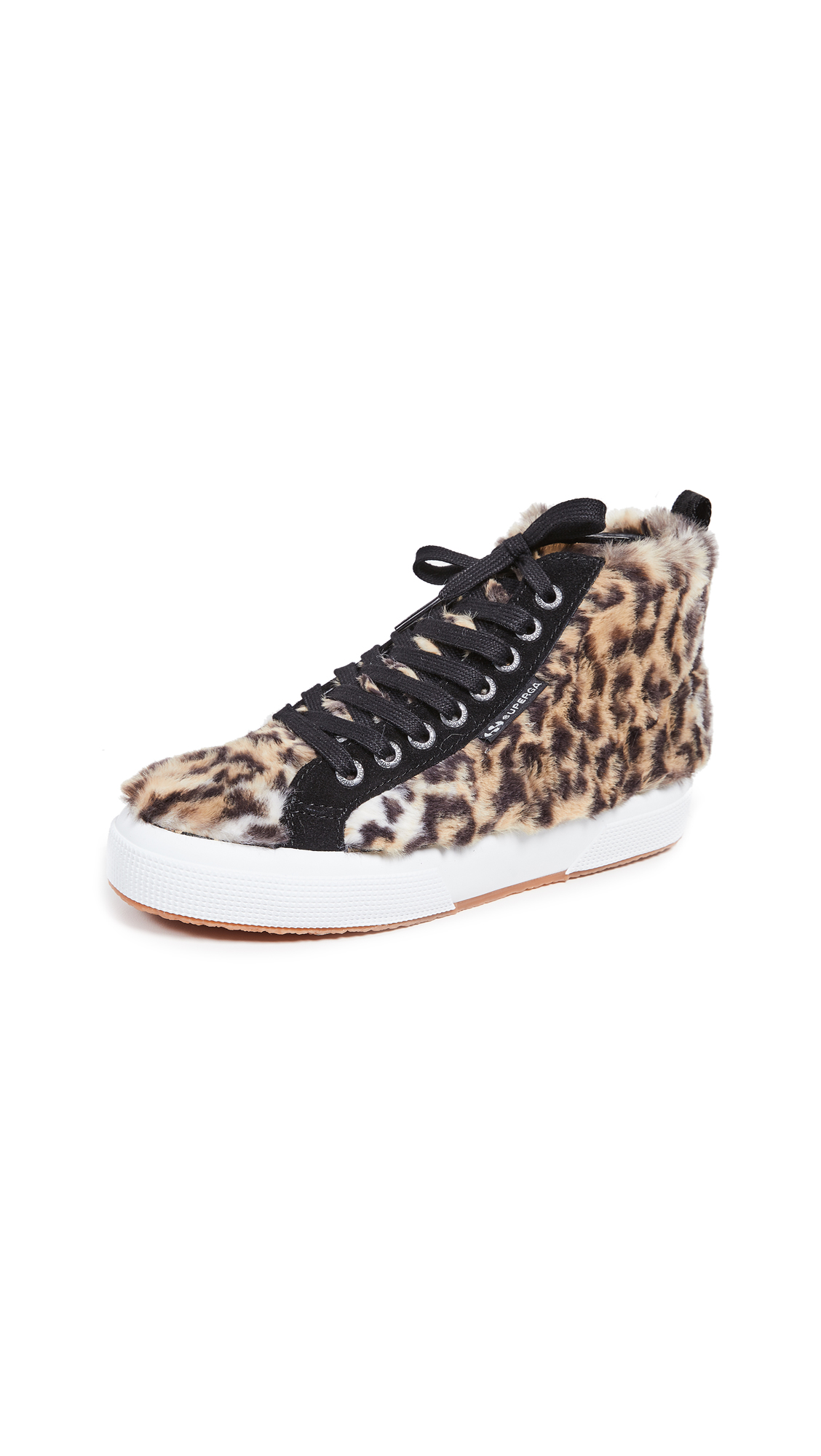 Superga x Jocelyn 2795 High Top Sneakers - Leopard