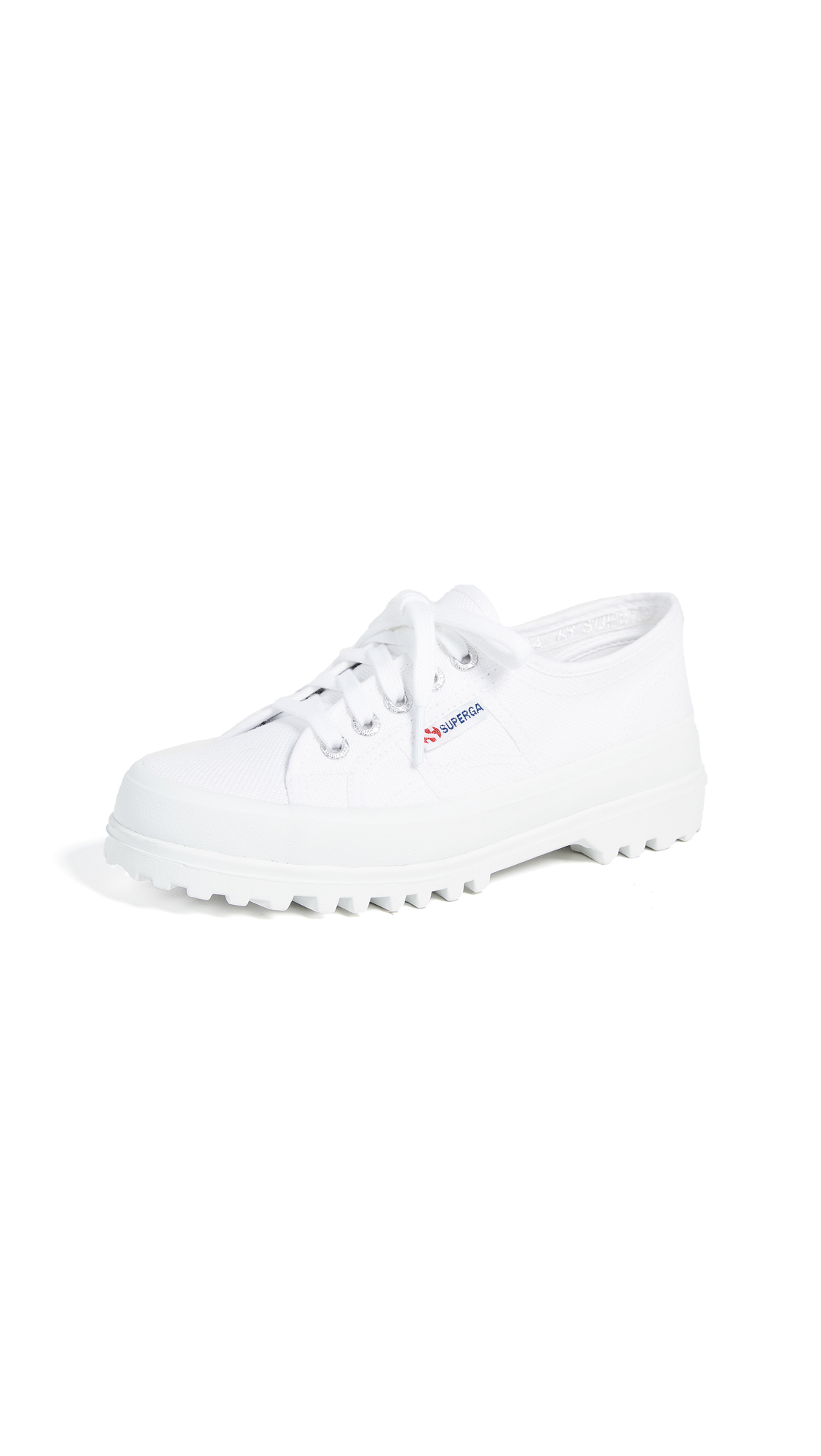 Superga 2555 Cotu Lug Sole Sneakers - White