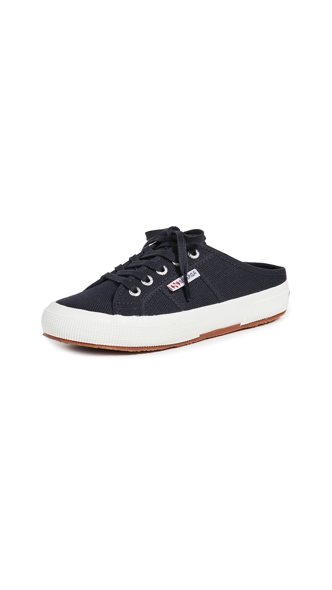 Superga 2551 Cotu Mule Sneakers - Blue Graphite