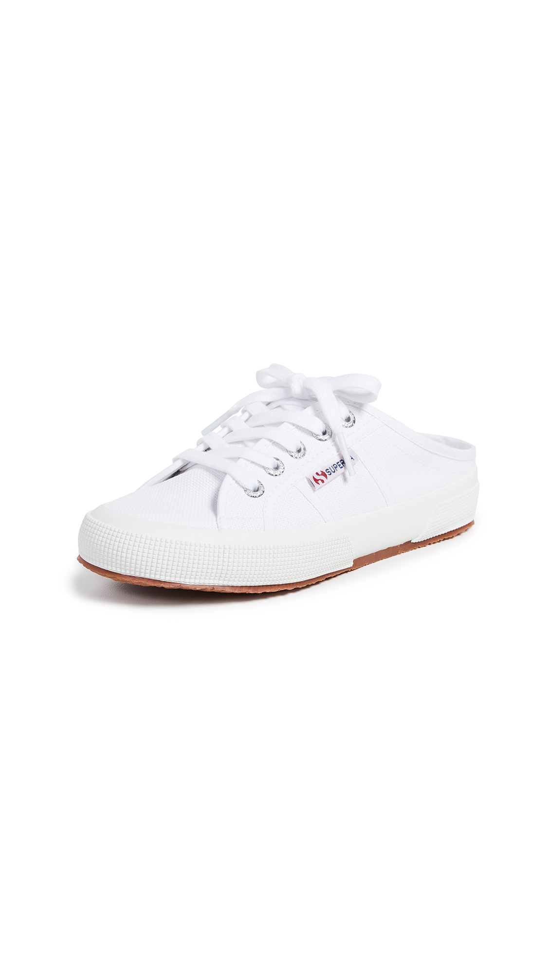 Superga Mule Sneakers - White