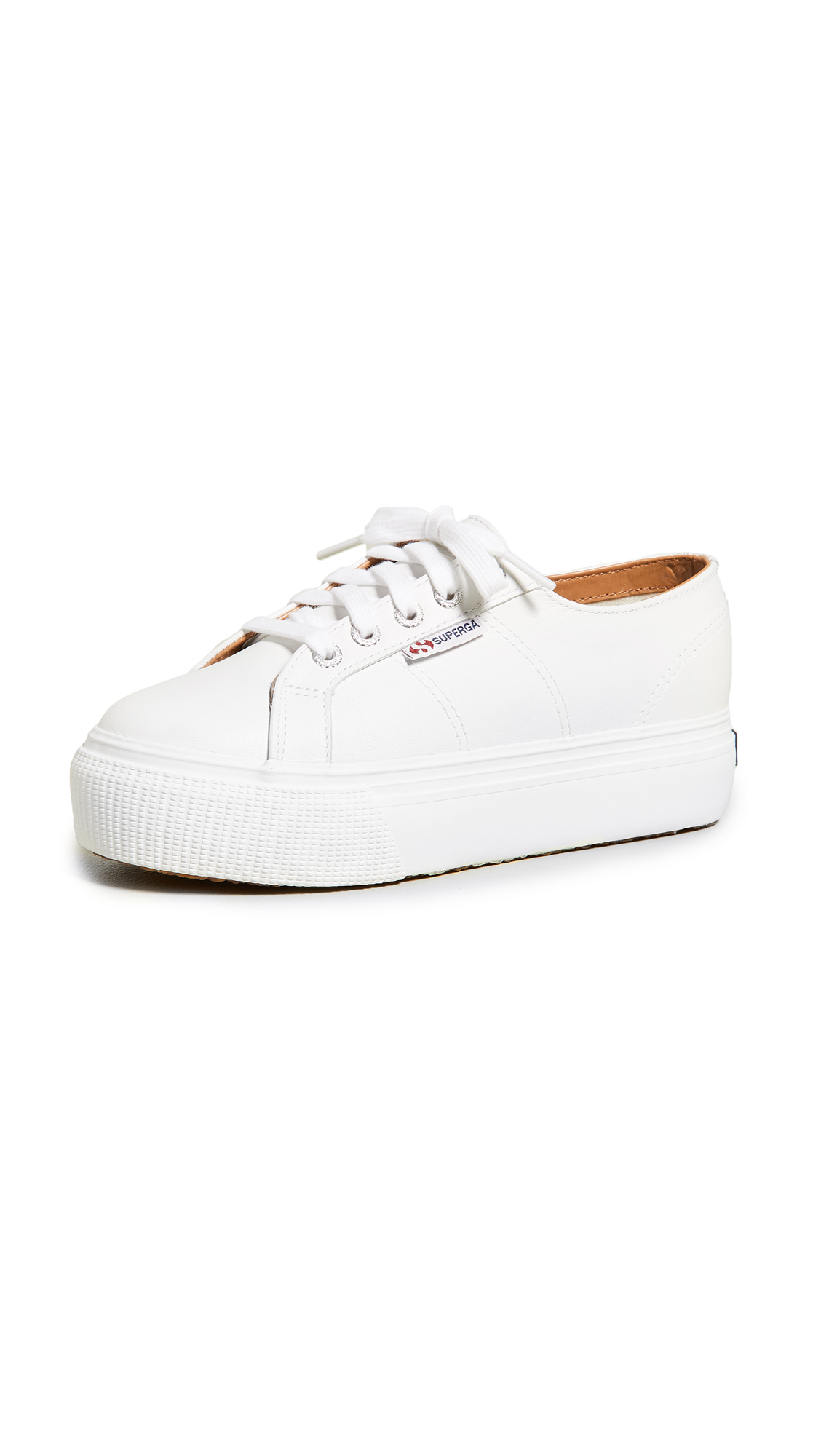 Superga 2790 Platform Sneakers - White
