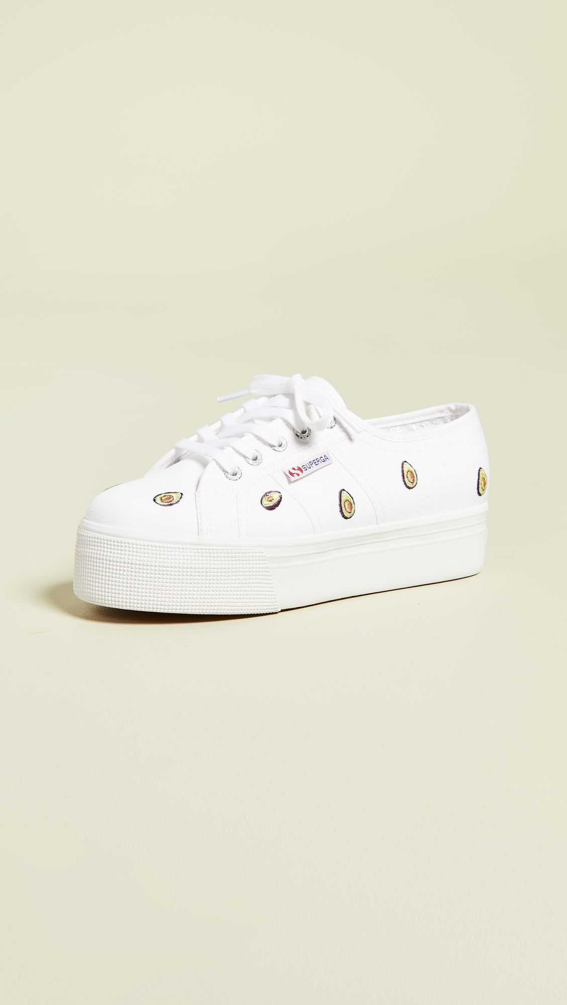 0025e127d34 Superga 2750 Avocado Cotw Platform Sneakers | SHOPBOP