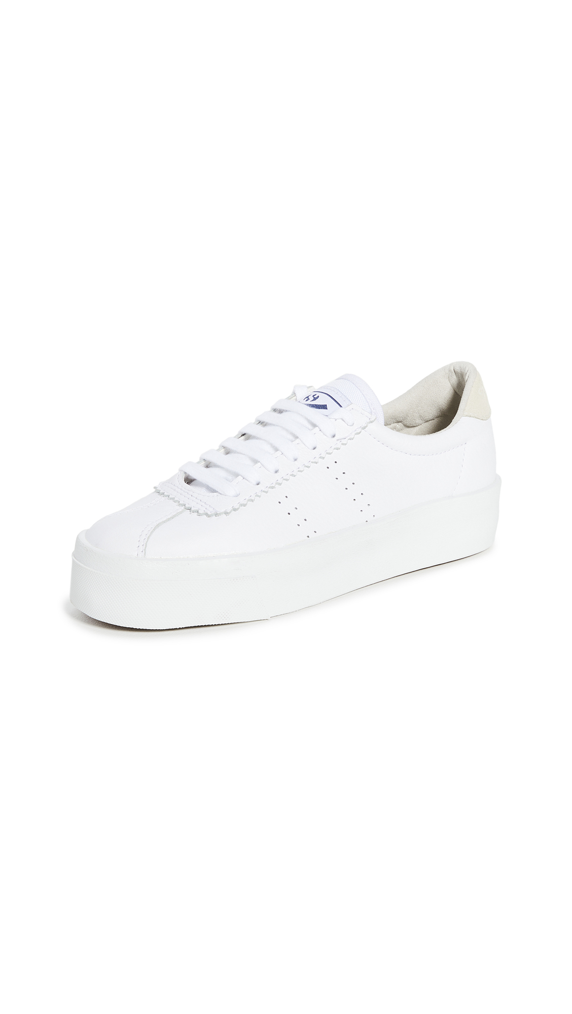 Buy Superga online - photo of Superga 2854 Club 3 Leasuew Sneakers