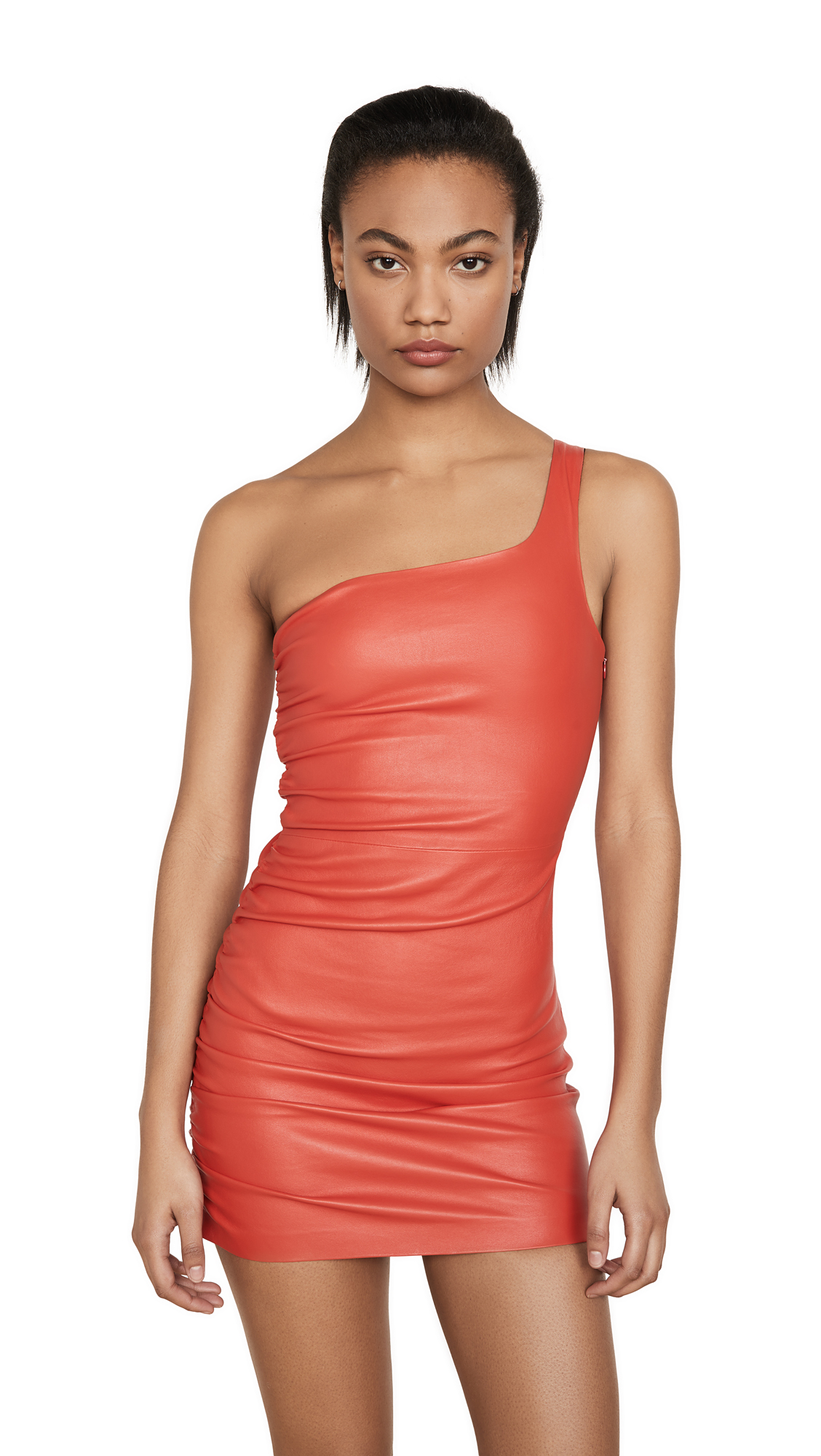 SPRWMN Shirred One Shoulder Dress – 50% Off Sale