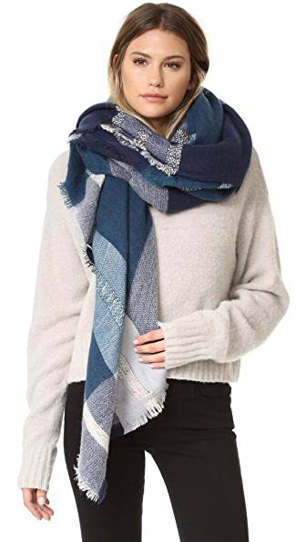 Spun Scarves by Subtle Luxury Шарф Plaid & Dipity