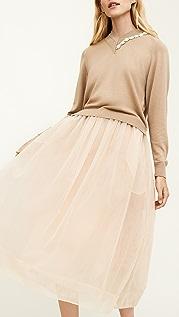 Simone Rocha 褶皱薄纱半身裙