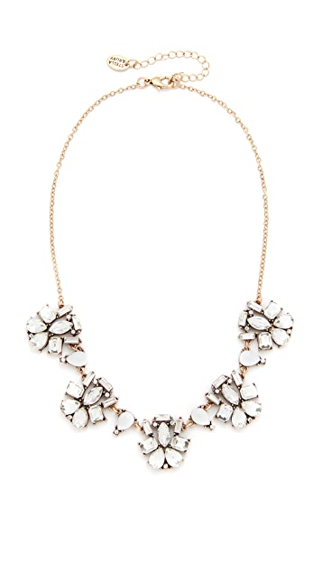 Stella + Ruby Crystal Cluster Necklace