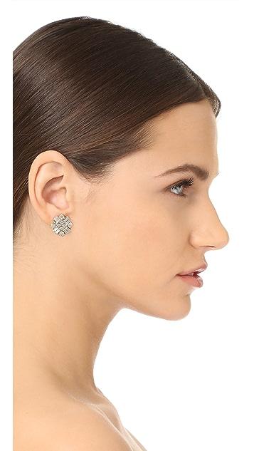 Stella + Ruby Statement Crystal Earrings