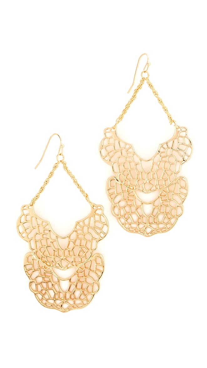 Stella + Ruby Chandelier Dangle Earrings | SHOPBOP SAVE UP TO 30 ...