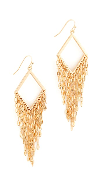 Stella + Ruby Fringe Dangle Earrings