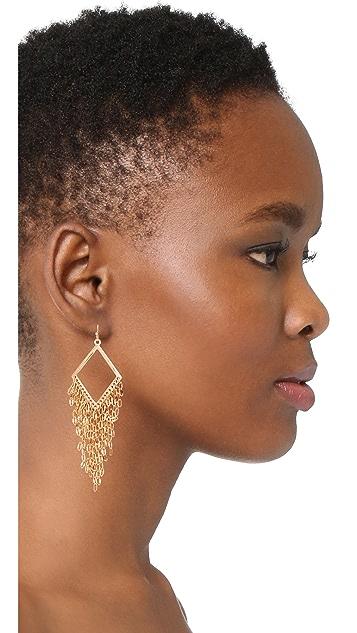 Stella + Ruby Fringe Dangle Earrings