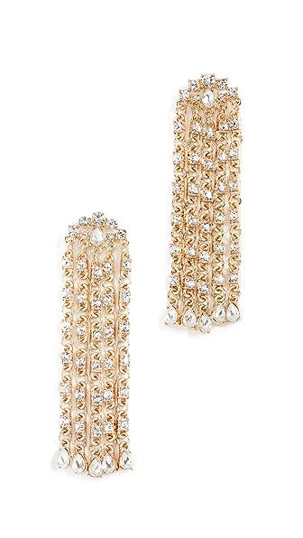 Stella + Ruby Jillian Earrings In Crystal