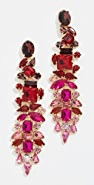 Stella + Ruby Ruby Drop Earrings