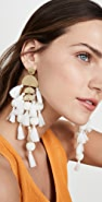 Stella + Ruby Large Chandelier Tassel Earrings