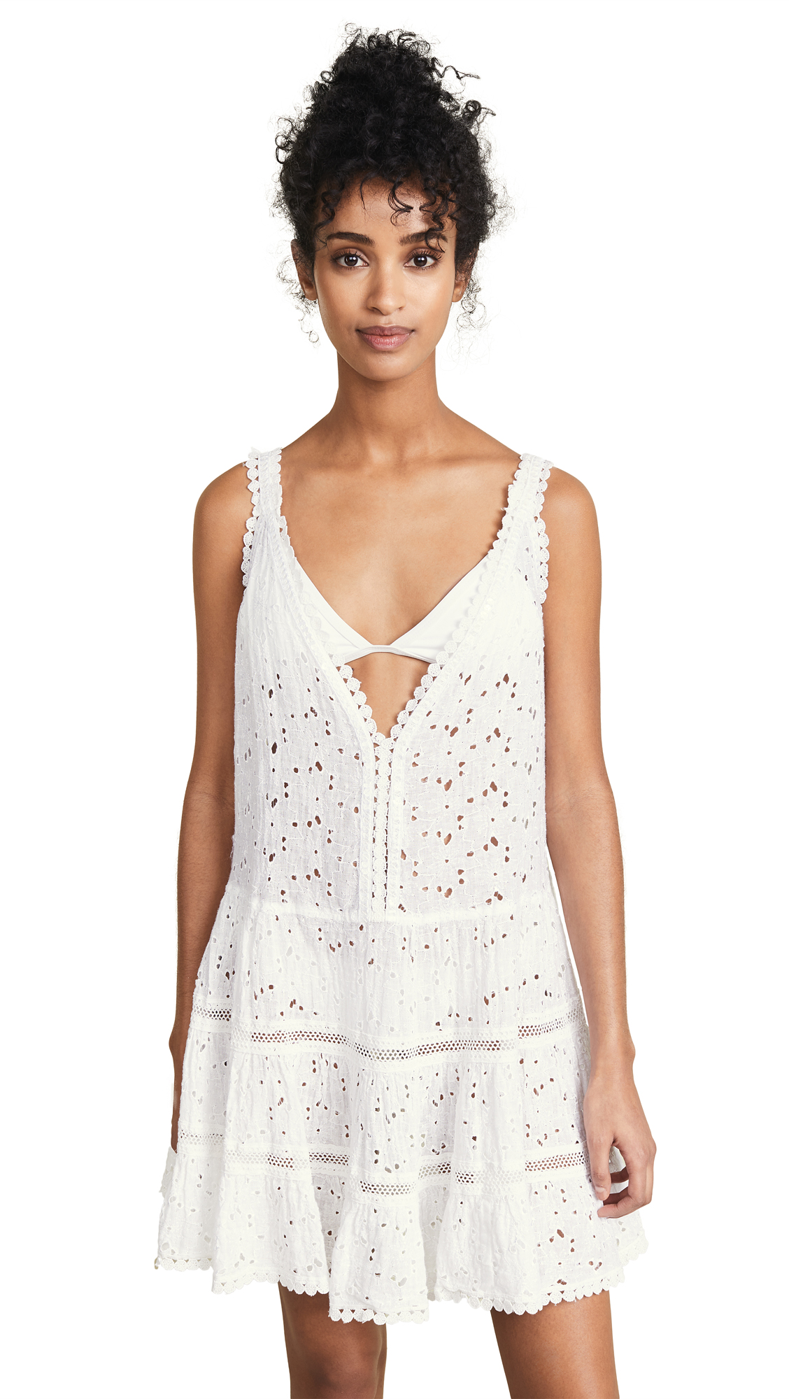 SUNDAY SAINT TROPEZ Marilyn Dress in White