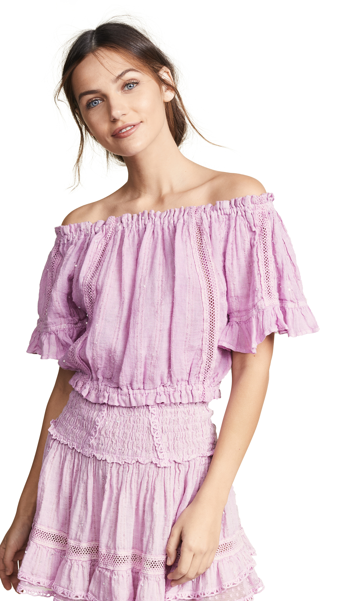 SUNDAY SAINT TROPEZ Loulou Top in Orchid