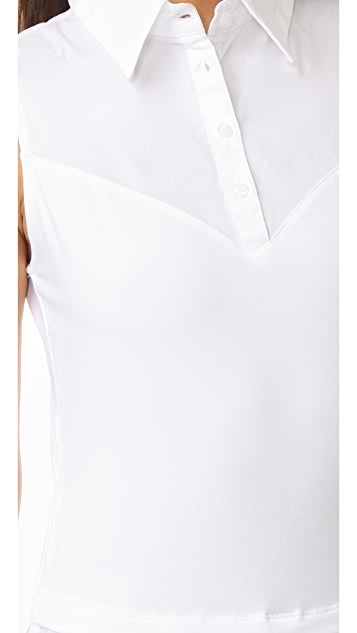 SKINNYSHIRT Sleeveless Shirt with Tails