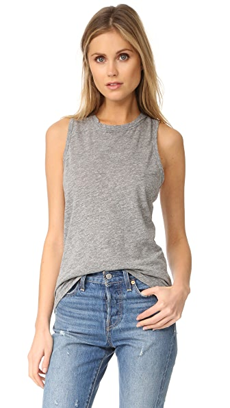 Stateside Slub Tank Top - Heather Grey