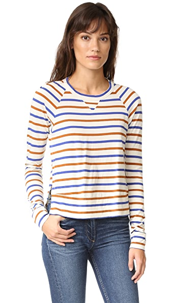 Stateside Long Sleeve Stripe Tee