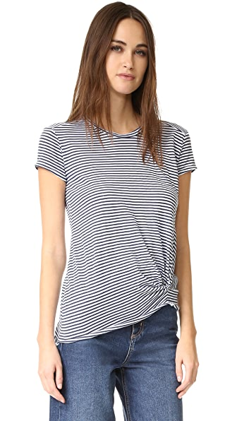 Stateside Twisted Stripe Tee