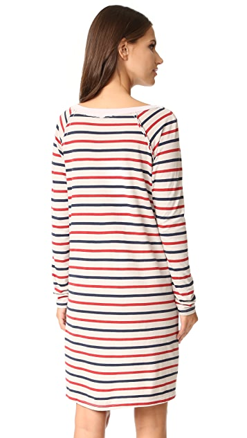 Stateside Long Sleeve Stripe Dress