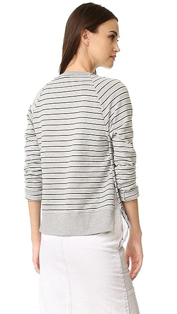Stateside Long Sleeve Stripe Sweatshirt