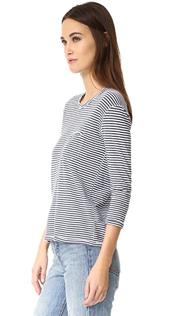 Stateside Long Sleeve Stripe Top