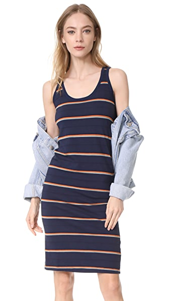 Stateside Jersey Striped Dress