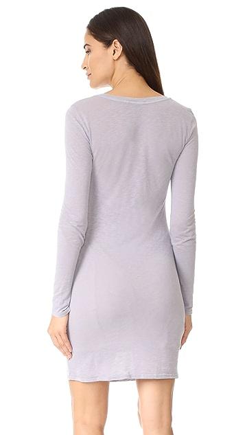 Stateside Long Sleeve T-Shirt Dress