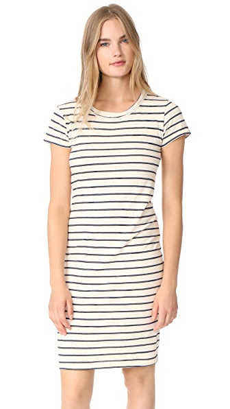 Stateside Striped T Shirt Dress